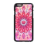 Pink Lotus Pattern Aluminum Hard Case for iPhone 6
