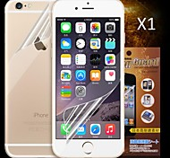 Front and Back HD Screen Protector for iPhone 6S/6  (1 PCS)