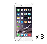 High definition Screen Protector Film for iPhone 6 (3 pcs)