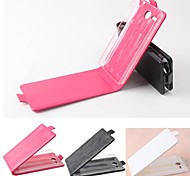 Hot Sale 100% PU Leather Flip Leather Up and Down Case for Lenovo A680(Assorted Colors)
