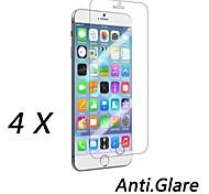 Protector de pantalla anti-huella digital de alta calidad para el iphone 6s / 6 (4 piezas)