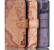 Support Mobile Phone Holster Case Character Map Iphone6 Plus  5.5 Inches