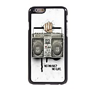 radio design aluminium Hard Case voor iPhone 6