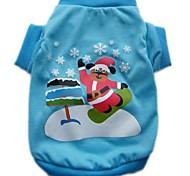 "India ""Santa Claus "" Pet T shirt  for Pet Dog (XS-L)"