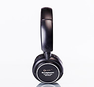 Stereo Headphone with Built-in MP3 Player and FM Radio (Black)
