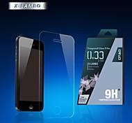 0,33 milímetros Otão 2pcs filme protetor de tela anti impressão digital para iPhone 5 5c 5s