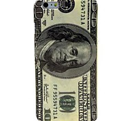 US Dollar Pattern TPU Soft Case for  iPhone 6 Plus