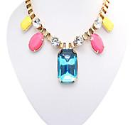 Neon Color Fashion Bib for Woman