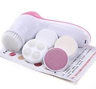 5-in-1 Elektro-Gesichtspflege Elektro-Peeling Massagegerät Haut Reiniger