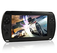 "Megafeis 7"" Inch 8GB 1080P Android Handheld Portable Game Console Tablet PC Dual-Camera Wifi HDMI (Black/White)"