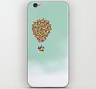 Top Right Corner of The Balloon Cabin Pattern hard Case for iPhone 6