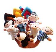Пальцевая кукла Игрушки Мультяшная тематика Хобби и досуг Мальчики / Девочки Текстиль