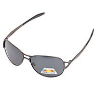 Polarized Men's Rectangle Alloy Polarized Fashion Sunglasses