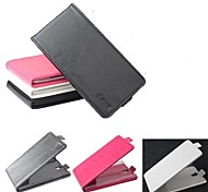 venda quente 100% couro pu couro flip-up e para baixo caso para oppo X909 (cores sortidas)