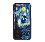 звездная ночь алюминиевая конструкция трудно случай для IPhone 6