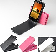 Hot Sale 100% PU Leather Flip Leather Up and Down Case for Lenovo A316(Assorted Colors)