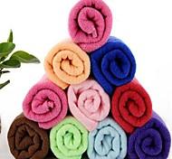 fibra superfina multifuncional toalha seca velocidade retangular (cor aleatória)
