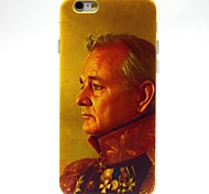 Celebrity Pattern TPU Soft Cover for iPhone 6