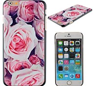 Pink Roses Design PC Hard Cover for iPhone 6