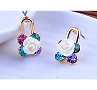 Love Is Your Fashion Exquisite Earrings KaiXinSuo Stud Earrings