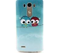 Blue Owl TPU Soft Case Cover for LG G3