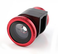 3-en-1 fisheye grand angle macro pour iphone 5/5 ans