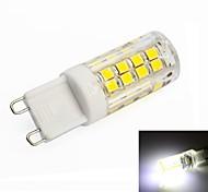 G9 4W 51 SMD 2835 350lm LM Natuurlijk wit T LED-maïslampen AC 220-240 V