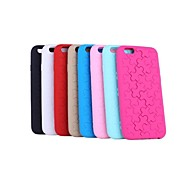 MY COVER® Solid Color Puzzle Silicone Soft Back Cover for iPhone 6/6S(Assorted Color)