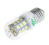 zweihnder e27 3w 320lm 6500K 27 x SMD 5050 llevó la lámpara de luz de maíz de luz blanca (CA 220V)