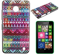 Delicate Stripes Pattern PC Hard Case for Nokia Lumia N630
