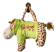 Giraffe Design Plush Toys Soft Hand Bag(Random Color)