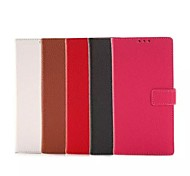 HHMM Litchi Grain With Stents PU leather for Sony Xperia Z3 (L55T) (Assorted Colors)