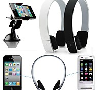 Stereo Wireless Bluetooth Headphone Earphone Headset for iPhone 6/6plus/5/5S/4/4S SAMSUNG HTC LG Sony Xiao mi