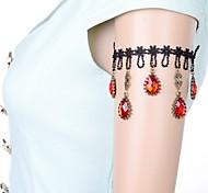 Fashion Lolita Lace Red Gem Armlet