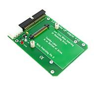 """50pin 1.8 """"micro unidad al adaptador ide 3.5 de 40 pines para la unidad de disco duro Toshiba"""