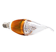 Bombillas Vela Regulable E14 4.0 W 4 LED de Alta Potencia 360 LM Blanco Natural AC 100-240 V