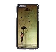 Cartoon Design Aluminum Hard Case for iPhone 6