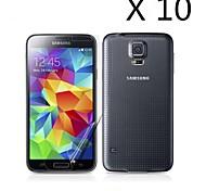 (10 stuks) high definition screen protector voor de Samsung Galaxy S5 i9600
