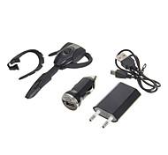 Bluetooth ps3 fone de ouvido fone de ouvido&cabo usb&UE Adapter&carregador de carro