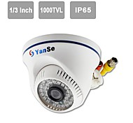 "YanSe® IR Dome Camera 1/3"" CMOS 36LED 1000TVL CCTV Vision Security Indoor Cameras 701CFW"