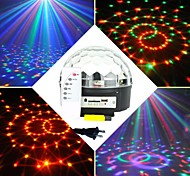 6x3W RGB-LED-mp3 dj Club Disco Party Kristall magische Kugel Bühne Laserlicht (ac100-240v)