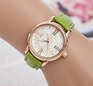 relógio de forma diamante calibração roma de pulso de quartzo das mulheres (cores sortidas)