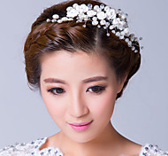 Women's Alloy / Cubic Zirconia Headpiece-Wedding / Special Occasion Flowers Clear