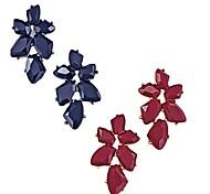 moda feminina conjunto de brincos de pedra