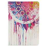 Colorful Ink Pattern PU Leather Full Body Case with Stand for Samsung Tab4 10.1 T530