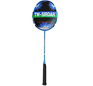 Sirdar cielo blu fibra di carbonio racchetta da badminton