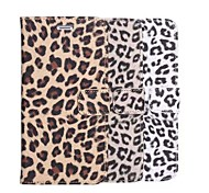 Luxury Leopard Pattern PU Leather Cover with Wallet Flip for iPhone 6 Plus(Assorted Colors)