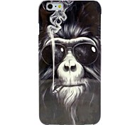 Fashion Orangutan Pattern TPU Soft Case for iPhone 6