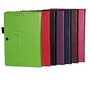 10.1 pulgadas de dos patrón de plegamiento lichee pu cuero para memo pad asus FHD 10 (me302c) (colores surtidos)