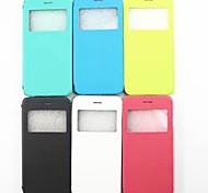 PU Leather Hard Cover for iPhone6(Assorted Colors)
